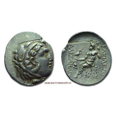ALESSANDRO MAGNO (ALESSANDRO III), 336-323 a.C., TETRADRAMMA, Emissione: 250-175 a.C., Zecca di Mesembria (Magistrato monetario: Dioskouridas), Rif. bibl. Price, 1004; Metallo: AR, gr. 16,36, (MG115736), Diam.: mm. 32,56, SPL