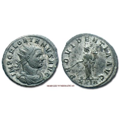 FLORIANO, 276 d.C., ANTONINIANO, Emissione: 276 d.C., Zecca di Roma, Rif. bibl. R.I.C., 37; Cohen, 74; Metallo: AE, gr. 3,39, (MR140940), Diam.: mm. 21,83, qSPL, (NC)  Ex Gadoury 2013 n. 182.