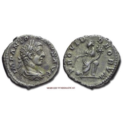 ELAGABALO, 218-222 d.C., DENARIO, Emissione: 218-222 d.C., Zecca di Roma, Rif. bibl. R.I.C., 130b; Cohen, 244; Metallo: AR, gr. 3,71, (MR71508), Diam.: mm. 18,88, mBB  Ex Sotheby's Milano 2004 n. 78, ex P. & P. Santamaria.