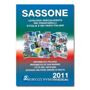 AA.VV., Sassone 2011, Repubblica Italiana, Repubblica di San Marino, Città del vaticano, Sovrano Militare Ordine di Malta, vol. 2
