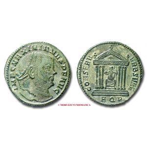MASSIMIANO ERCULEO, FOLLIS, 307-308 d.C.