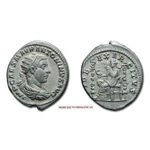 ELAGABALO, 218-222 d.C., ANTONINIANO, Emissione: 218-222 d.C., Zecca di Roma, Rif. bibl. R.I.C., 70f/S; Cohen, 31; Metallo: AR/AE, gr. 5,43, (MR24675), Diam.: mm. 20,37, mBB, (R)