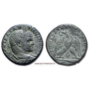 CARACALLA, 198-217 d.C., TETRADRAMMA, Emissione: 198-217 d.C., Zecca di Tiro (Fenicia), Rif. bibl. Prieur, 1551; Metallo: AR, gr. 14,63, (MR70640), Diam.: mm. 24,57, BB, (NC)