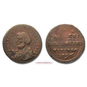 PIO VI, Braschi,1775-1799, BAIOCCHI 2 e 1/2, 1796