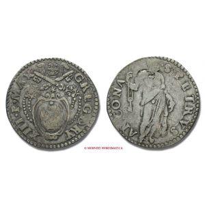 Stato Pontificio, GREGORIO XIII, Boncompagni, 1572-1585, TESTONE