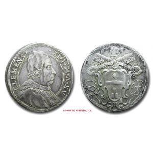 Stato Pontificio, CLEMENTE XI, Albani 1700-1721, PIASTRA, ANNO XV