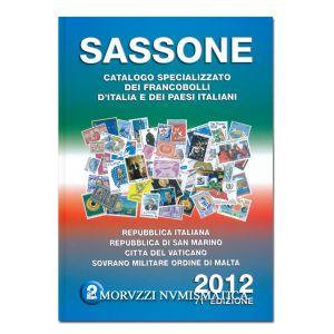 AA.VV., Sassone 2012, Repubblica Italiana, Repubblica di San Marino, Città del Vaticano, Sovrano Militare Ordine di Malta, vol. 2