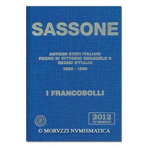 AA.VV., Sassone 2012, Antichi Stati italiani, Regno di Vittorio Emanuele II, Regno d'Italia
