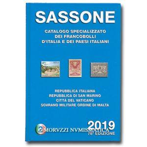 AA.VV., Sassone 2019, Repubblica Italiana, Repubblica di San Marino, Città del Vaticano, Sovrano Militare Ordine di Malta, vol. 2