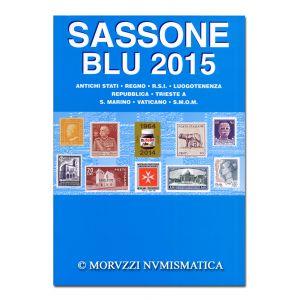 AA.VV., Sassone Blu 2015, Antichi Stati, Regno, R.S.I., Luogotenenza, Repubblica, Trieste A, S. Marino, Vaticano, S.M.O.M.