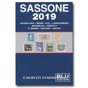 AA.VV., Sassone Blu 2019, Antichi Stati, Regno, R.S.I., Luogotenenza, Repubblica, Trieste A, S. Marino, Vaticano, S.M.O.M.